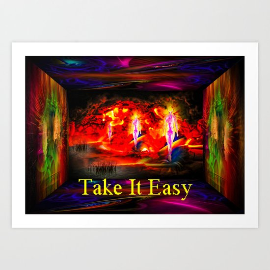Heavenly apparition  - Take It Easy Art Print