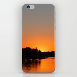 Sunset at Sunset Bay iPhone Skin