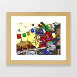 Beauty Of Ladakh Framed Art Print