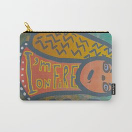 Atlantis Icon / I'm on Fire! Carry-All Pouch