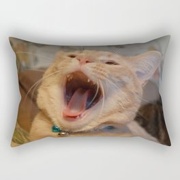 A Cat Picture Rectangular Pillow