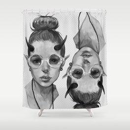 Monster Girl #3a Shower Curtain