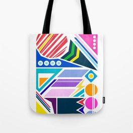 Geo Splash Tote Bag