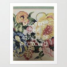Segregate Art Print