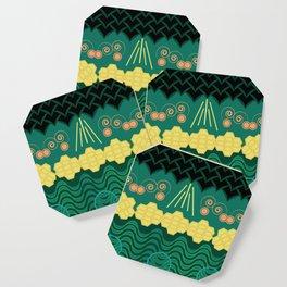 Rainforest HARMONY pattern Coaster