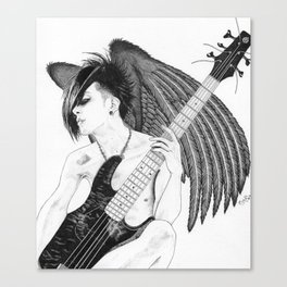 Winged Tomo Canvas Print