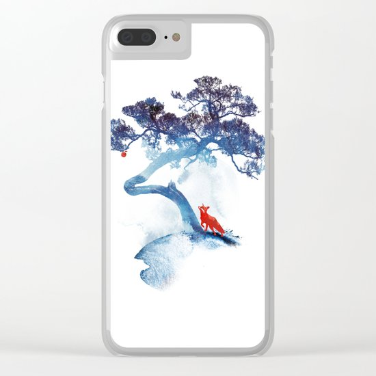 The last apple tree Clear iPhone Case