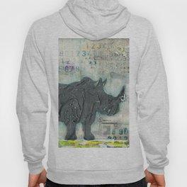 Majestic Series: Rhino on a roll Hoody