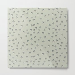 Greeen polyhedra Metal Print