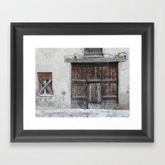 Disused Home Framed Art Print