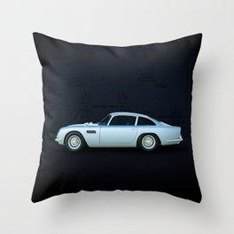 British Icon Throw Pillow