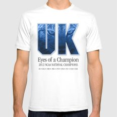 Eyes of a Champion Mens Fitted Tee MEDIUM White