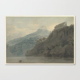 On the Gulf of Salerno near Vietri , John Robert Cozens (British, London 1752–1797 London) Canvas Print