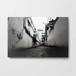 Alleyway Love Metal Print