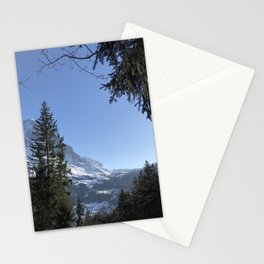 Swiss Mountains Grindelwald Stationery Cards