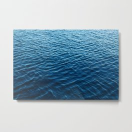 Blue Water Metal Print