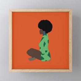 Eat Your Vegetables Framed Mini Art Print