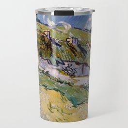 """Vincent van Gogh """"Cottages"""" Travel Mug"""