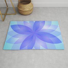 Abstract Lotus Flower G303 Rug