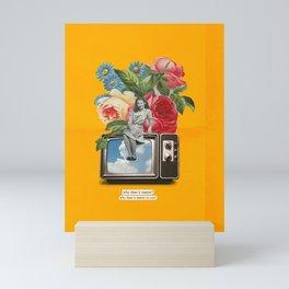 Flowerss Mini Art Print