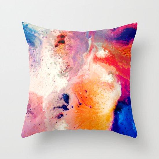Corrosion Throw Pillow