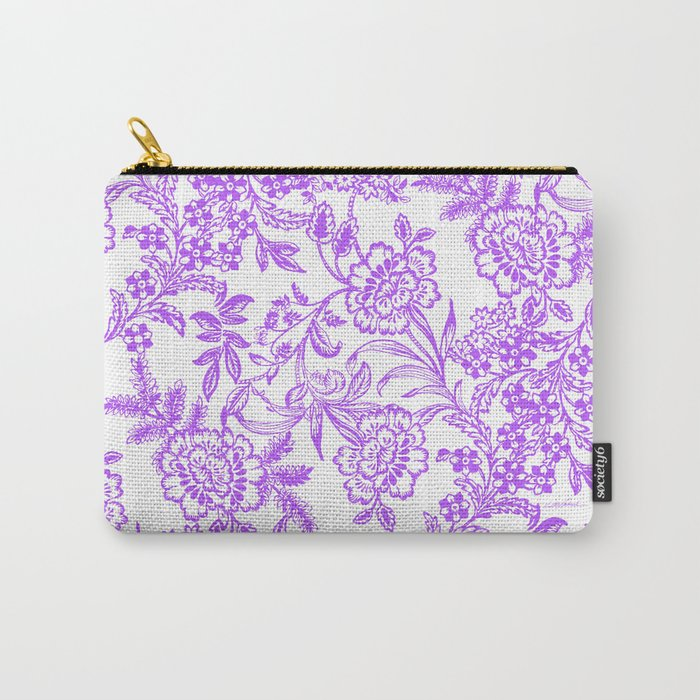 Radiant Orchid Tea Reversed Carry-All Pouch