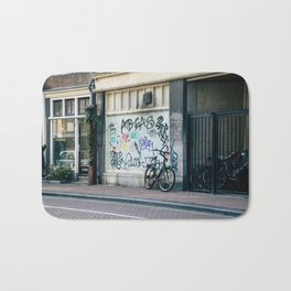 Streets of Amsterdam Bath Mat