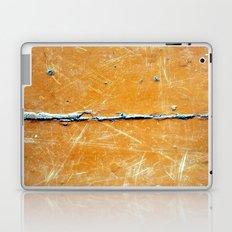 yellow wood Laptop & iPad Skin