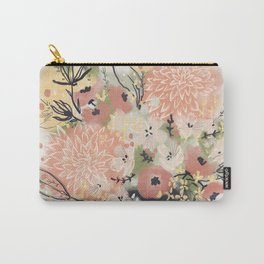 Early Autumn Florals Carry-All Pouch
