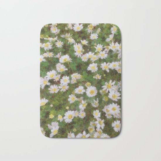 Daisies In Spring Bath Mat