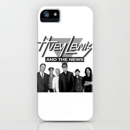 HUEY LEWIS AND THE NEWS WORLD TOUR DATES 2019 IJAD iPhone Case