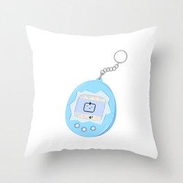 tamagotchi Throw Pillow