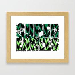 Nigeria Super Eagles ~Group D~ Framed Art Print