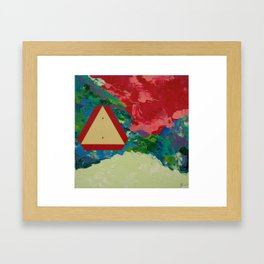 Yield Framed Art Print
