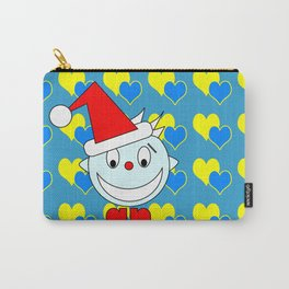 Funny Laughing Head Carry-All Pouch