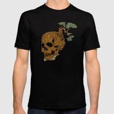 Timber Skull MEDIUM Black Mens Fitted Tee