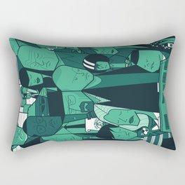 Breaking Bad (green version) Rectangular Pillow