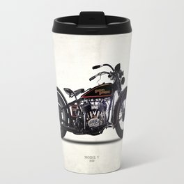 The 1930 Harley Model V Travel Mug