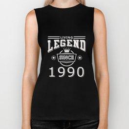 Living Legend Since 1990 T-Shirt Biker Tank