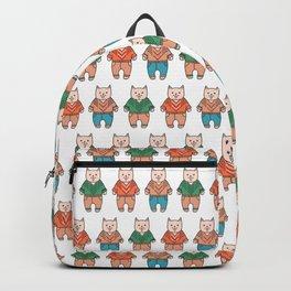 Cute cartoon cats pattern Backpack