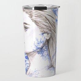 Provincial Blue Travel Mug