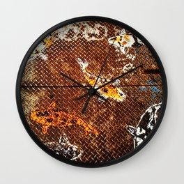 Grate Koi! Wall Clock