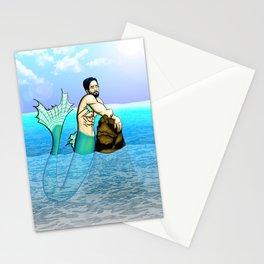 Melancholy Merman Stationery Cards