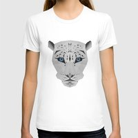 snow leopard T-shirts featuring Snow leopard by Czety