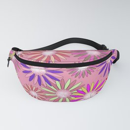 PINK floral healing Fanny Pack
