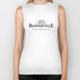 Baskerville Biker Tank