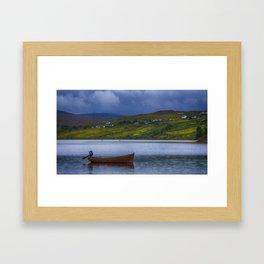 Carbost Loch Harport Framed Art Print