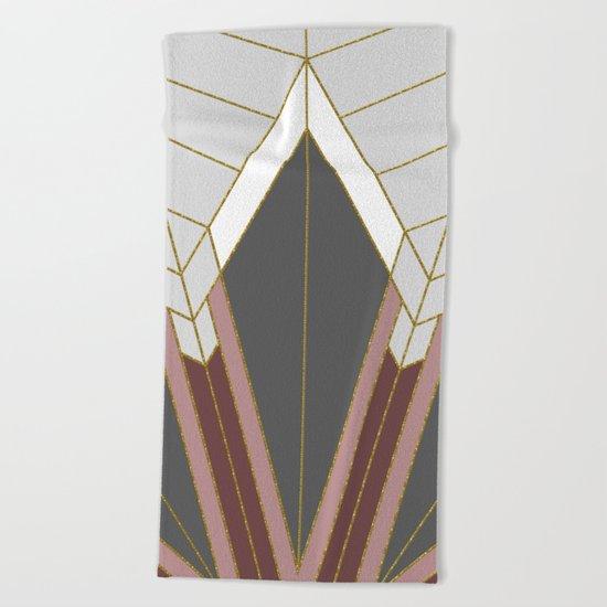 ART DECO G1 (abstract) Beach Towel