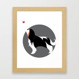 Cavalier King Charles Love Framed Art Print