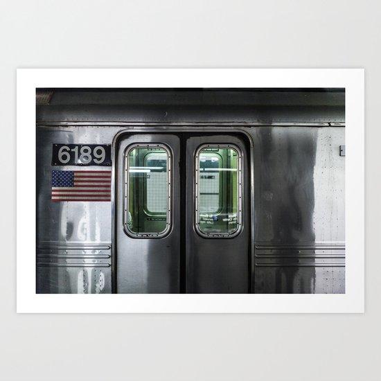 New York City Subway Art Print